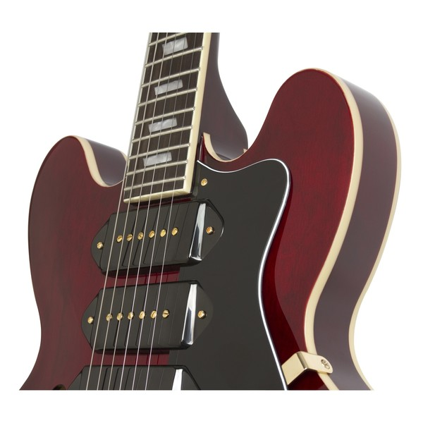 Epiphone Riviera Custom P93, Wine Red