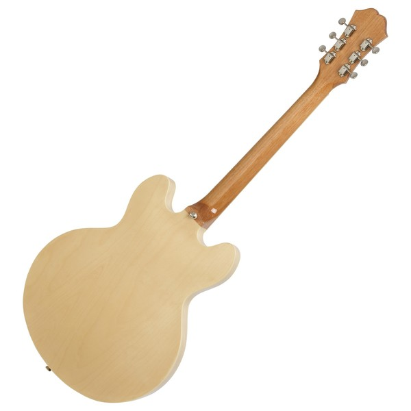 Epiphone Casino Archtop, Natural Back
