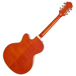 Epiphone Emperor Swingster Archtop, Sunrise Orange Back