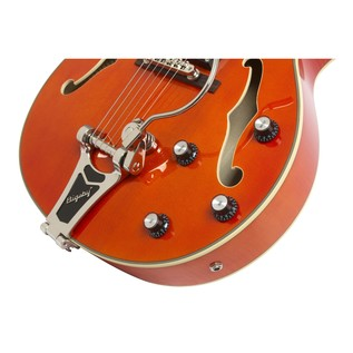Epiphone Emperor Swingster Archtop, Sunrise Orange