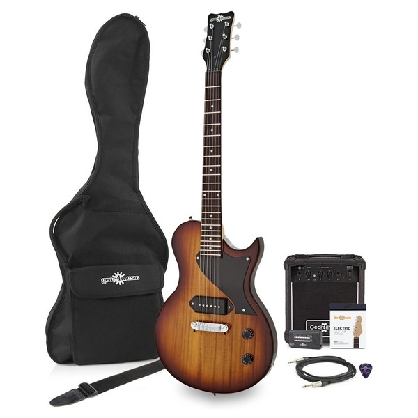 New Jersey II Electric Guitar + 10W Amp Pack, Tobacco Sunburst