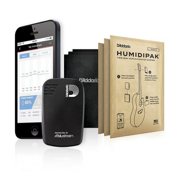 D'Addario Humidikit - Humiditrak / Humidipak Bundle