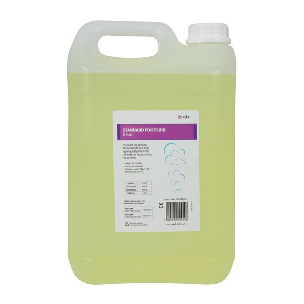 QTX Light Density Fog Fluid, 5 Litres