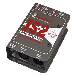 Radial JS2 Passive Microphone Splitter 1