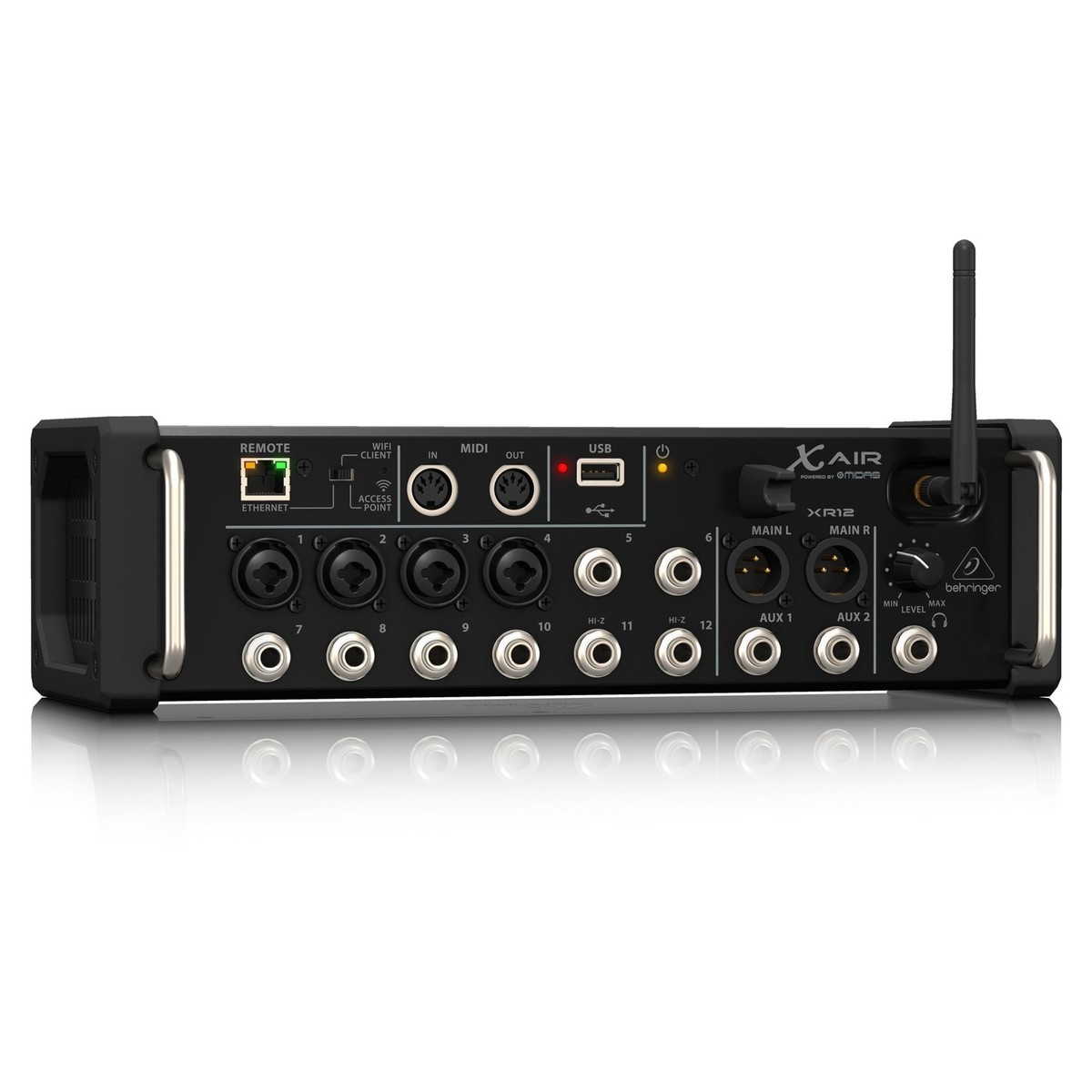 behringer x air xr12 12 channel digital mixer b stock at gear4music. Black Bedroom Furniture Sets. Home Design Ideas