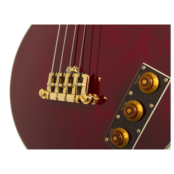 Epiphone Allen Woody Rumblekat Bass, Wine Red
