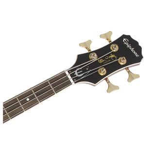 Epiphone Allen Woody Rumblekat Bass, Wine Red