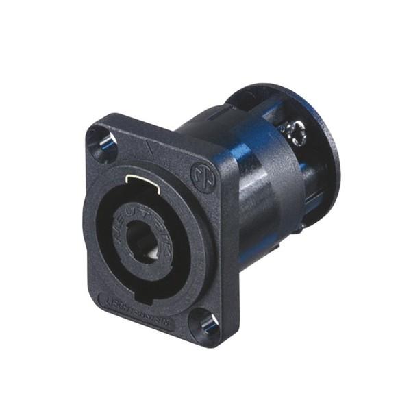 Neutrik NL4MP-ST 4-Pole Male SpeakON Chassis Connector 1