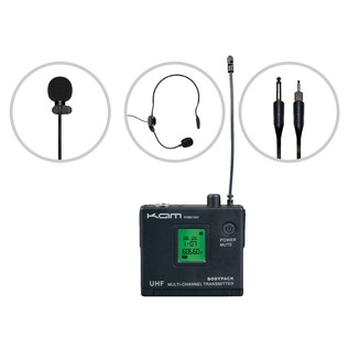KAM KWM1960 BP60 Wireless Microphone System