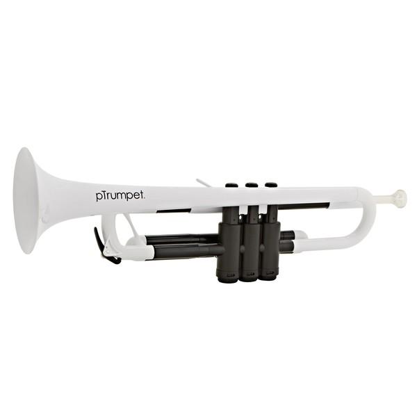pTrumpet Plastic Trumpet, White