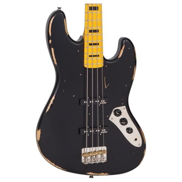 Vintage VJ74 Icon Bass MN, Black
