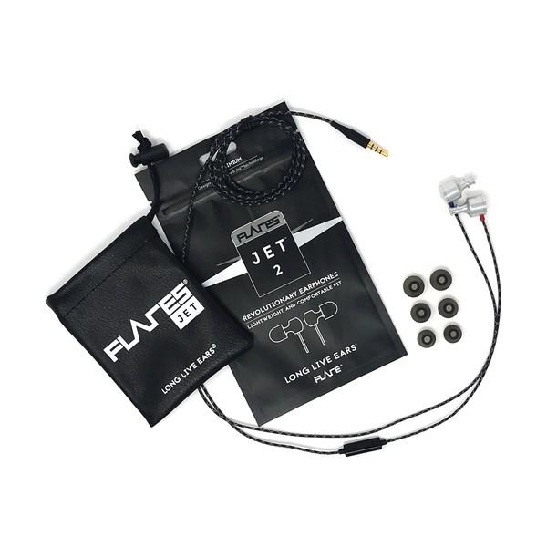 Flare Audio Jet 2 Earphones, Aluminium