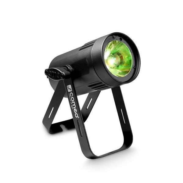 Cameo Q-Spot 15 RGBW, Black, Front