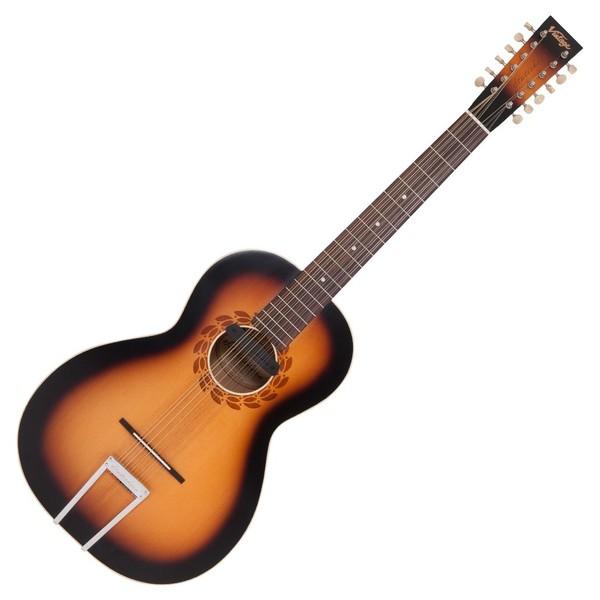 Vintage Paul Brett Statesboro 12-String Electro Acoustic w/ Case Front View