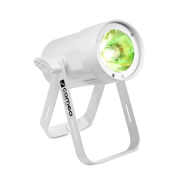 Cameo Q-Spot 15 RGBW, White, Front