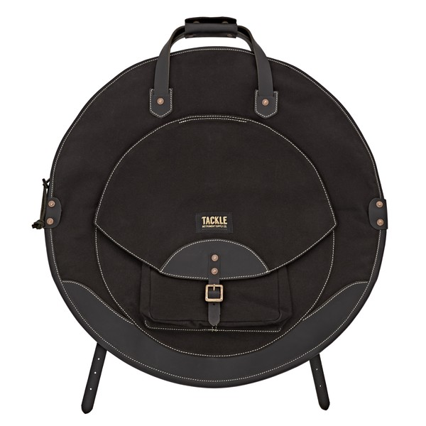 """Tackle Instrument Supply Co. Backpack 22"""" Cymbal Bag, Black"""