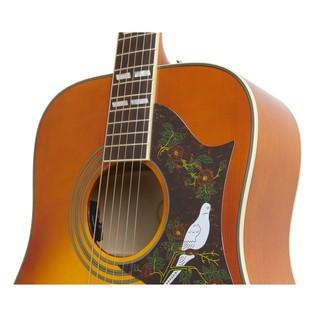 Epiphone Dove Pro Electro Acoustic, Violinburst