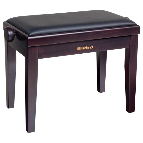 Roland RBP-200RW Adjustable Piano Bench, Rosewood