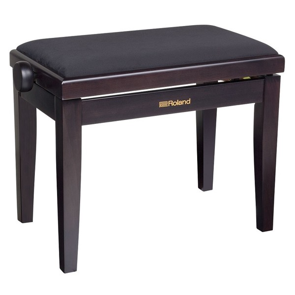 Roland RPB-220RW Adjustable Piano Bench, Rosewood