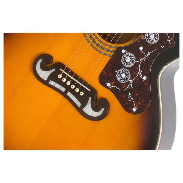 Epiphone EJ-200CE Electro Acoustic, Vintage Sunburst