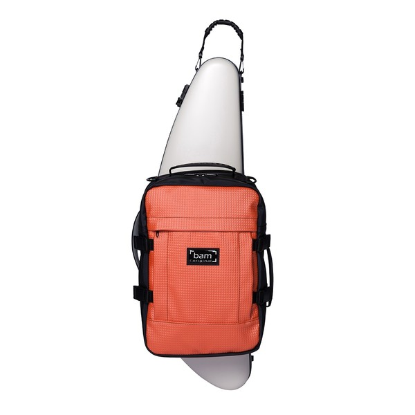 BAM A+ Backpack for Hightech Style Case, Orange   Gear4music