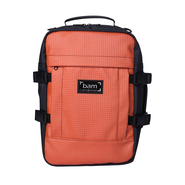 BAM A+ Backpack for Hightech Style Case, Orange | Gear4music