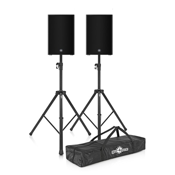 Yamaha CZR10 10'' Passive PA Speaker Pair with Stands