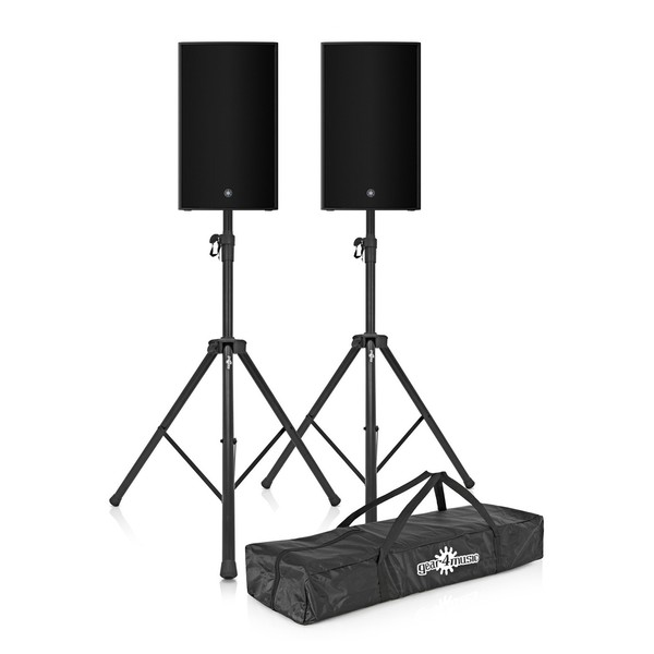 Yamaha CZR15 15'' Passive PA Speaker Pair with Stands