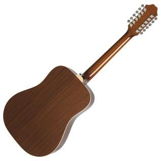 Epiphone DR-212 12-String Acoustic, Natural Back