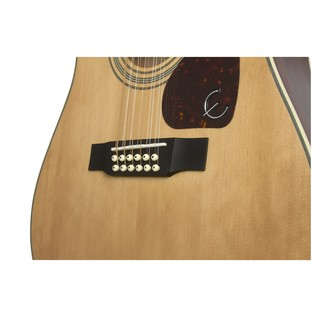 Epiphone DR-212 12-String Acoustic, Natural