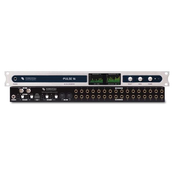 Ferrofish Pulse 16 DX Dante Audio Interface - Main