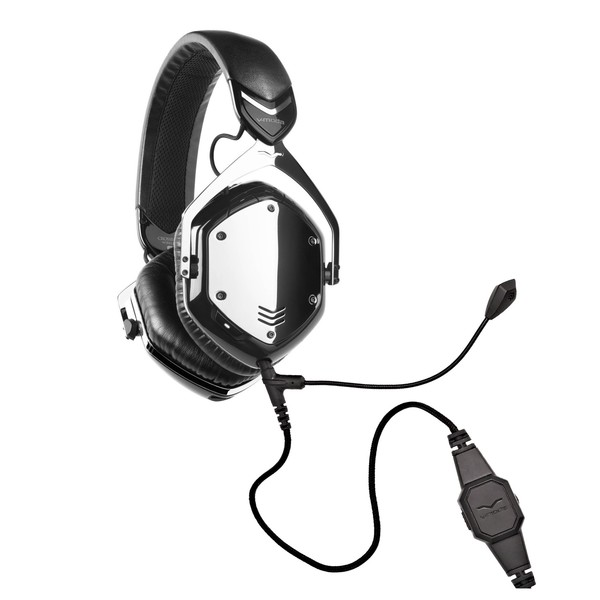 V-Moda Crossfade Wireless Gaming Headset, Phantom Chrome