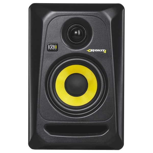 KRK Rokit RP4 G3 Studio Monitor, Single - Front