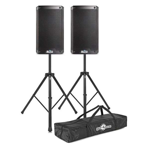 Alto TS308 2000 Watt Active Speakers With Stands, Pair - Main