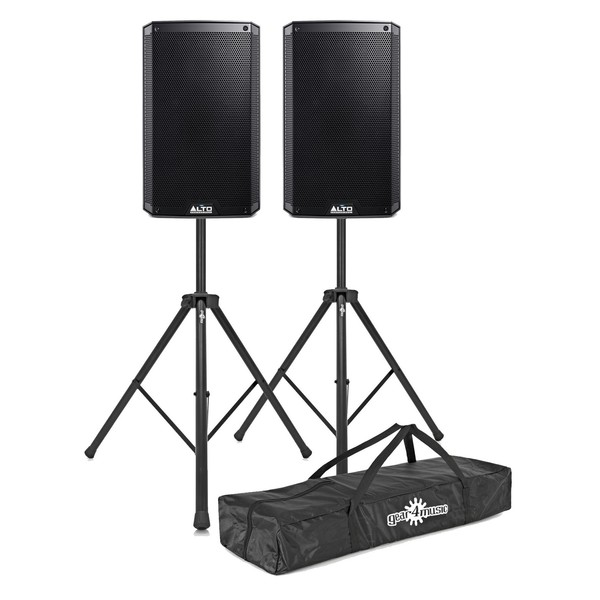 Alto TS310 2000 Watt Active Speakers With Stands, Pair - Main