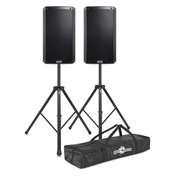 Alto TS312 2000 Watt Active Speakers With Stands, Pair - Main