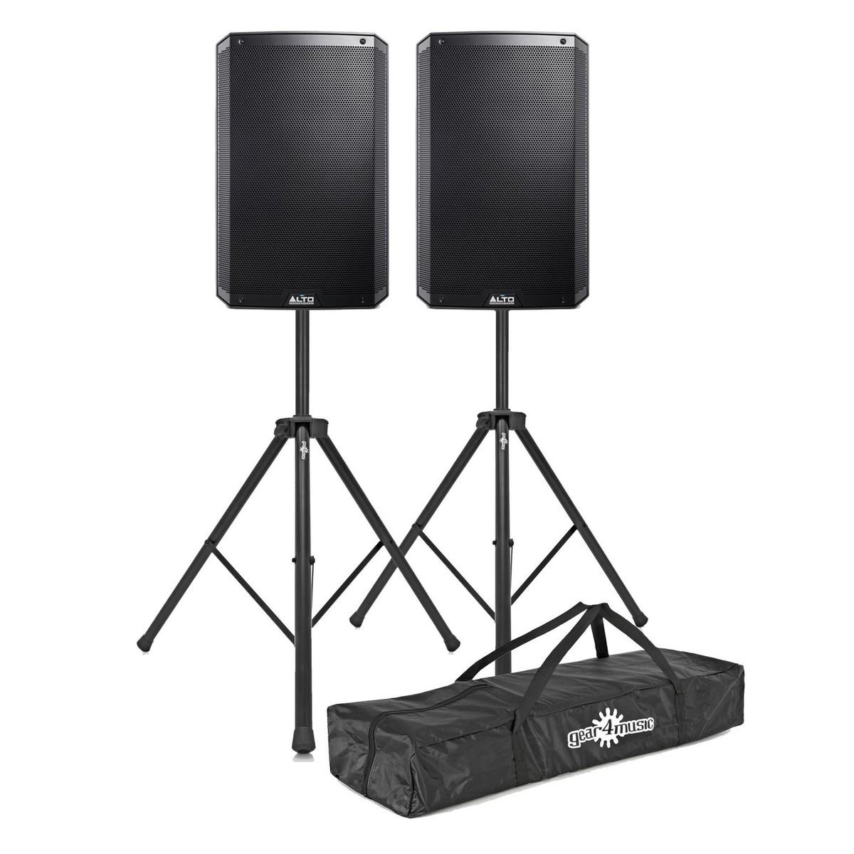 Schema Collegamento Xlr : Alto ts315 2000 watt diffusori attivi con stand coppia a gear4music.com