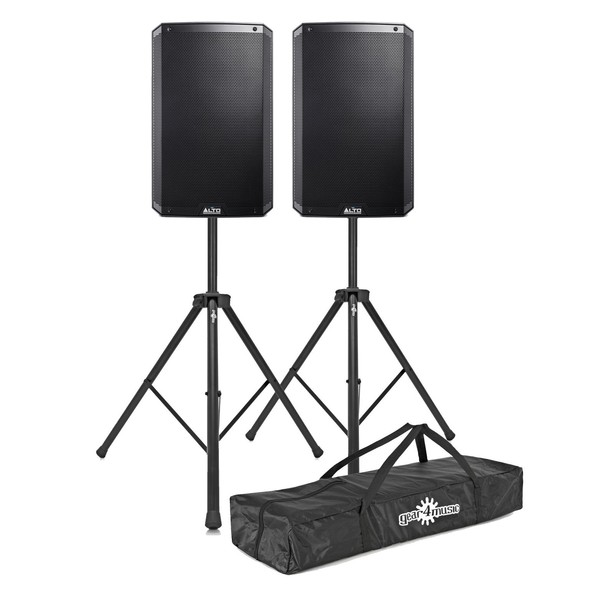 Alto TS315 2000 Watt Active Speakers With Stands, Pair - Main