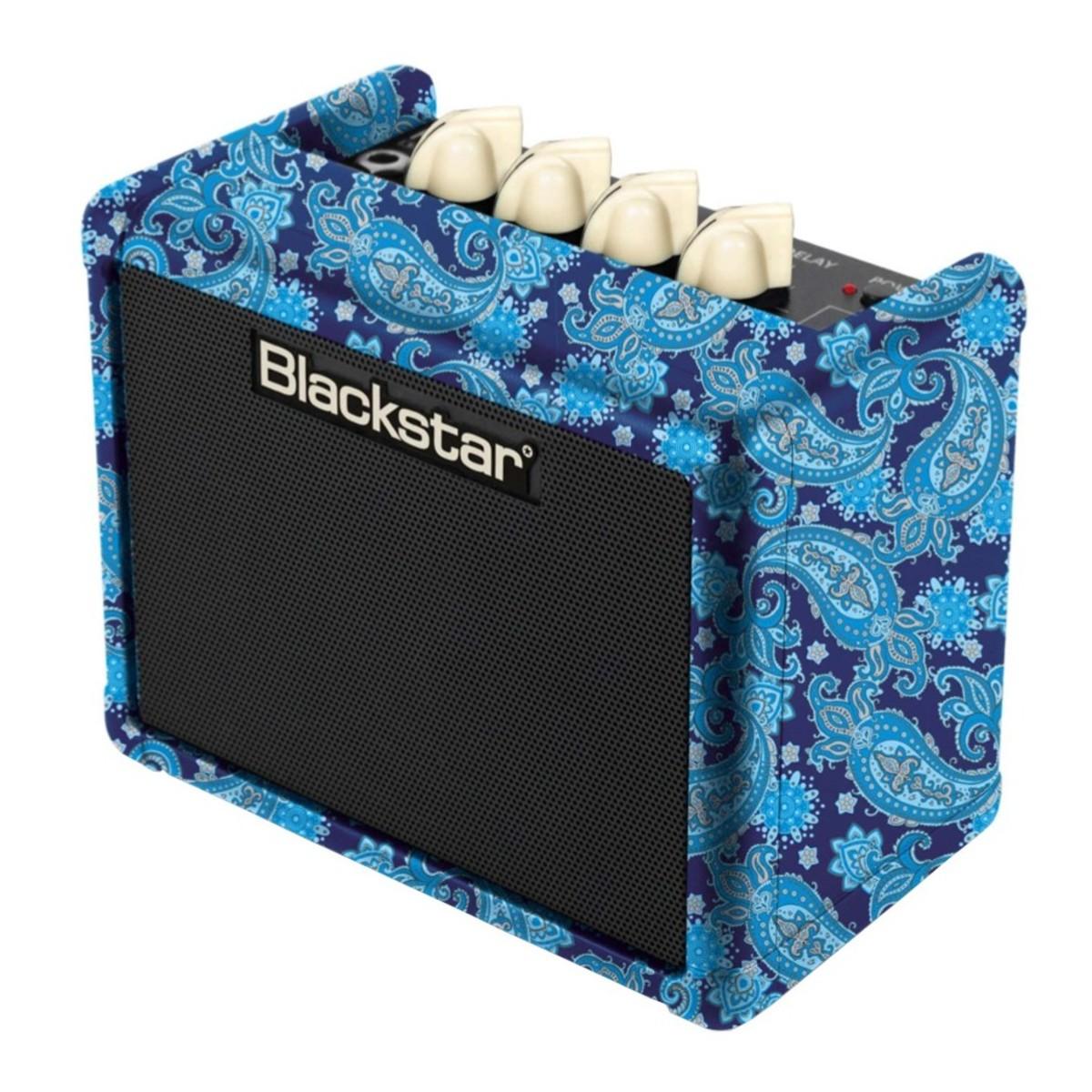 Blackstar Fly 3 Bluetooth Purple Paisley Mini Amp