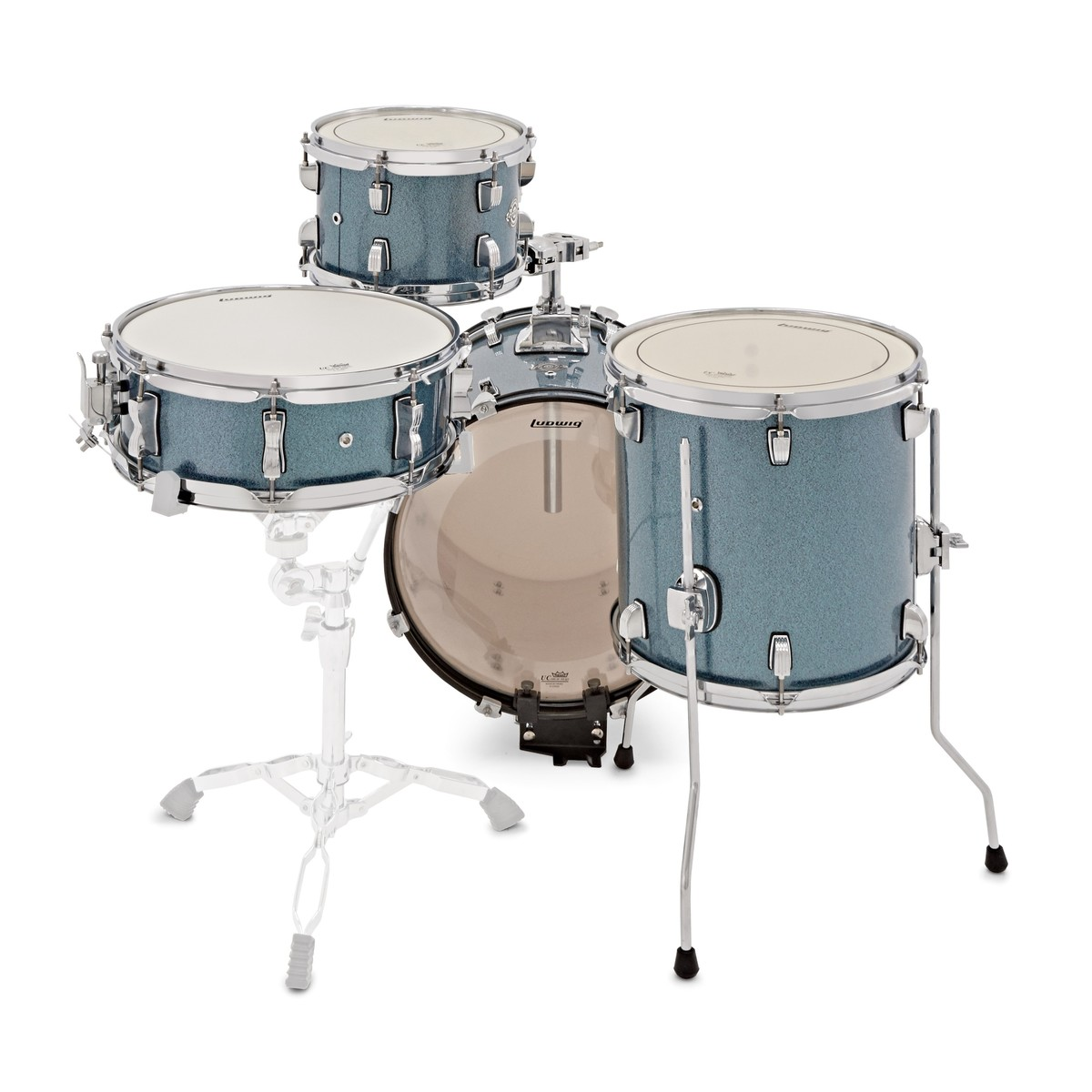 Ludwig Breakbeats Questlove 16in 4pc Shell Pack Azure