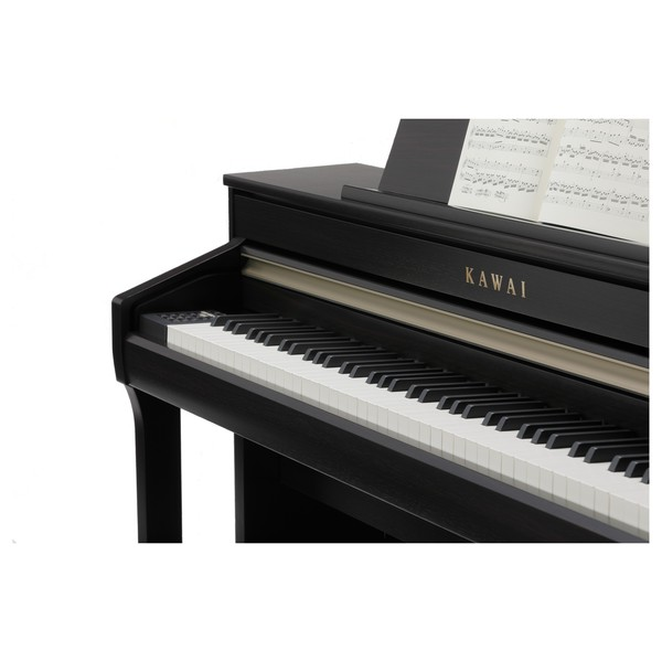Kawai CA58 Digital Piano, Premium Rosewood, Side