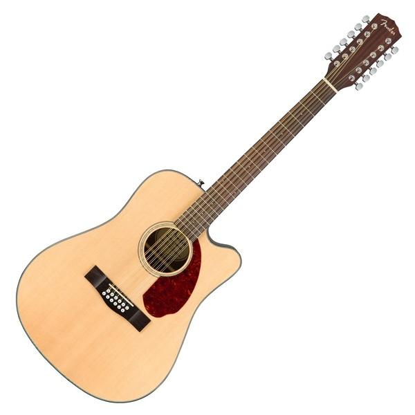 Fender CD-140SCE 12 String Electro Acoustic Guitar, Natural