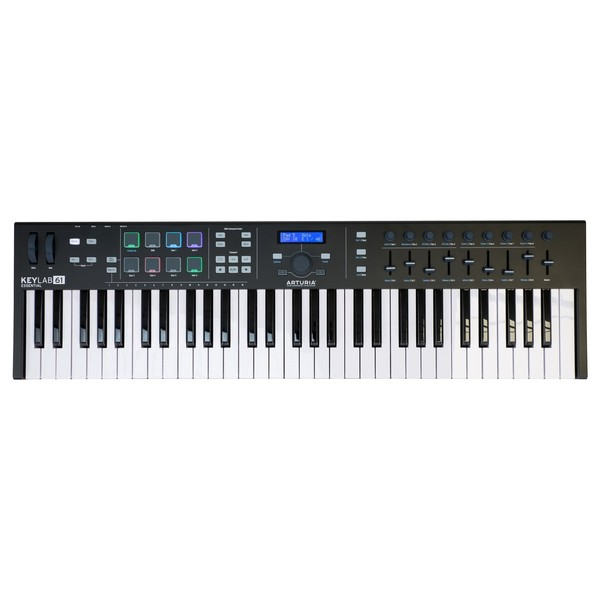 Arturia KeyLab Essential 61, Black - Top