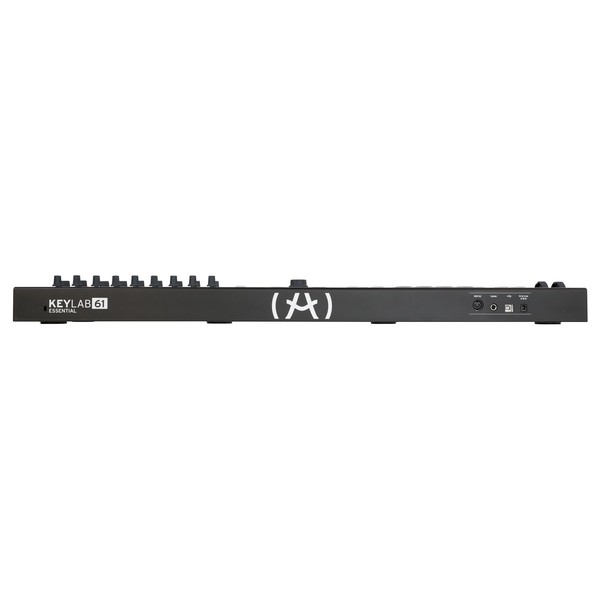 Arturia KeyLab Essential 61, Black - Rear