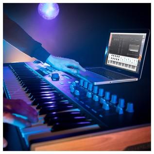Arturia Keylab 61 MIDI Keyboard, Black