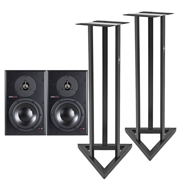 Dynaudio BM6A Studio Monitors with Stands - Main