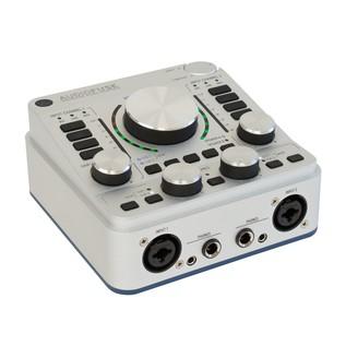 Arturia AudioFuse USB Interface for Mac, PC and iOS, Classic Silver - Angle