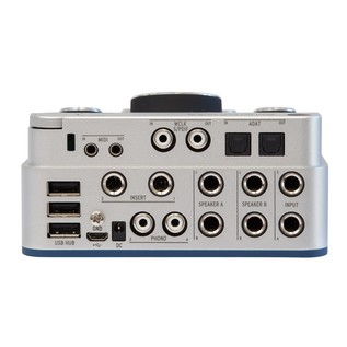Arturia AudioFuse USB Interface for Mac, PC and iOS, Classic Silver - Back