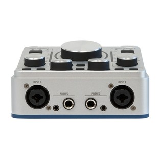 Arturia AudioFuse USB Interface for Mac, PC and iOS, Classic Silver - Front