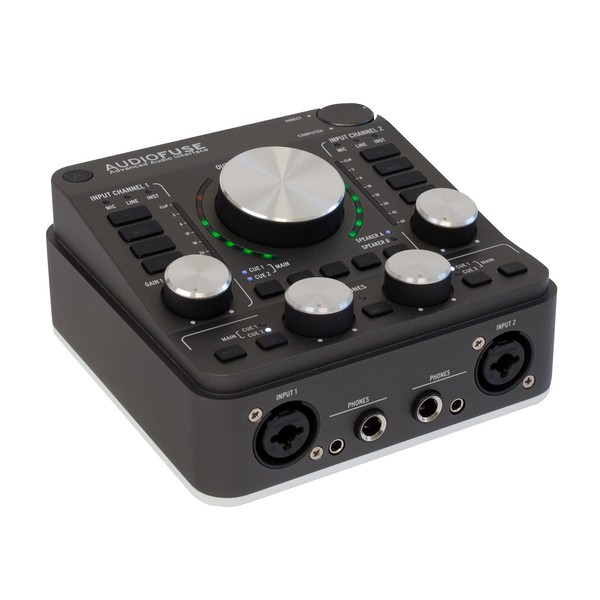 Arturia AudioFuse USB Interface for Mac, PC and iOS, Space Grey - Angle